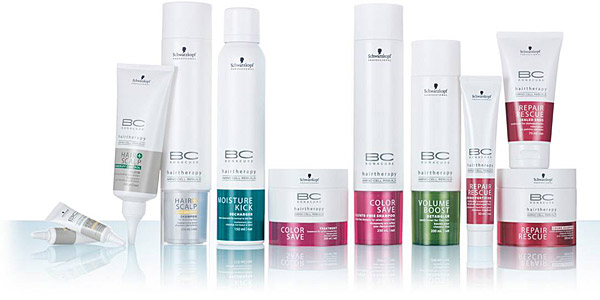 BC Bonacure hair conditioning products ottawa