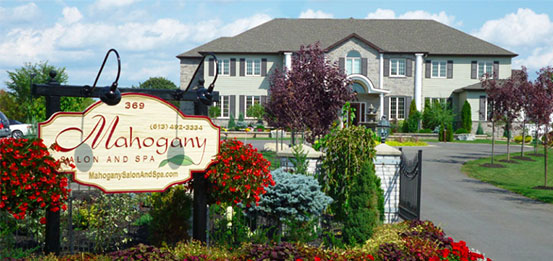 Photo of Mahogany Salon and Spa's beautiful location in Carleton Place